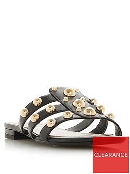 dune-london-nahlah-stud-detail-flat-sandals-black