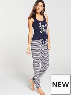 boux-avenue-summer-nights-daisy-vest-stripe-pj-set-blue