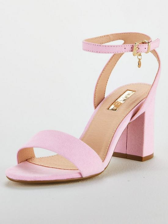 fceedfbbe OFFICE Marigold Heeled Sandal - Pink