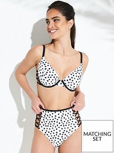 boux-avenue-madrid-spot-high-waist-bikini-briefs-blackwhite
