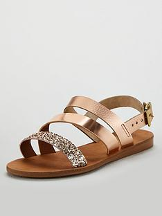 acfc50a1b OFFICE Sweetheart Flat Sandals - Pink
