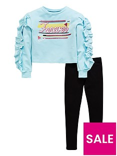 v-by-very-girls-2-piece-forever-glitter-ruffle-sweat-top-and-leggings-outfit-blue