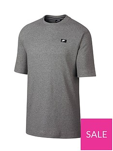 nike-sportswear-waffle-t-shirt-dark-grey-heather