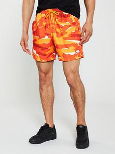 nike-sportswear-camo-woven-shorts-orange