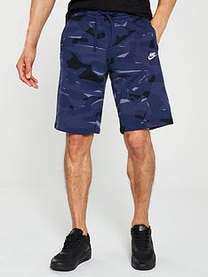 timeless design ce723 ab9e7 Nike Sportswear Club Camo Shorts - Midnight Navy