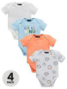 mini-v-by-very-baby-4-pack-short-sleeve-safari-brights-bodysuits-multi