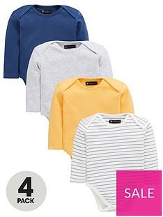 mini-v-by-very-baby-4-pack-long-sleevenbspbodysuits-multi