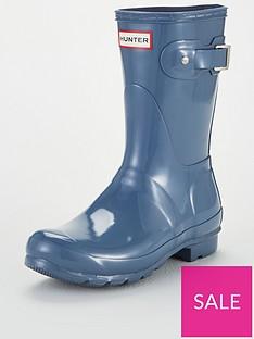 hunter-original-short-gloss-wellington-boots-vivid-blue