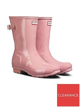 hunter-original-short-back-adjustable-gloss-wellington-boots-candy-floss