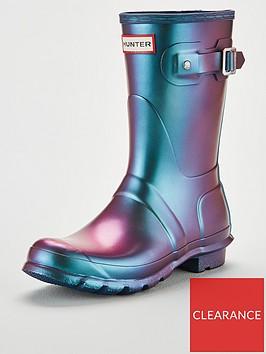 hunter-original-short-nebula-wellington-boot-wave-blue