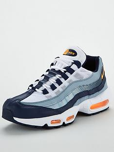 premium selection 9056e cd43e Nike Air Max 95 - Navy Orange