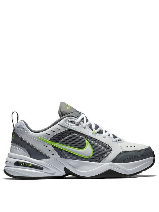 95aef4da57 Nike Air Monarch IV - White/Grey | very.co.uk
