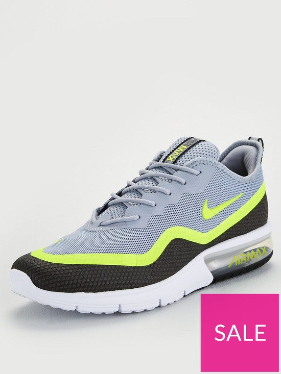 promo code 3fce6 4ee45 Nike Air Max Sequent - Black Volt