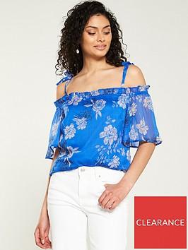 v-by-very-floral-cold-shoulder-blouse-blue-floral