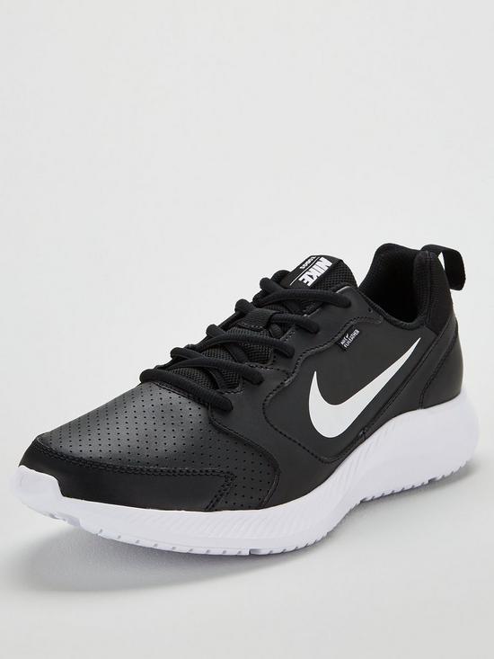 f60681969 Nike Todos - Black/White   very.co.uk