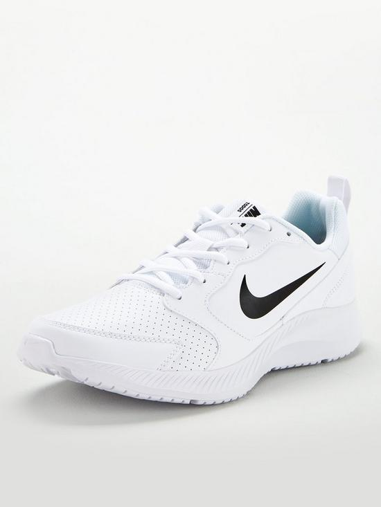 a4c3fc165 Nike Todos - White/Black   very.co.uk