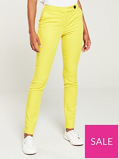 v-by-very-colour-pop-slim-leg-trouser-yellow