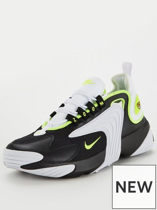 9603c841baed Nike Zoom 2K - White Black Volt