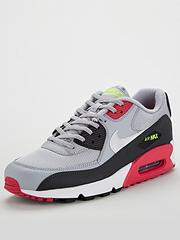 a23667cd69e93 Nike Air Max 90 - Grey Black Pink