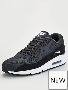 differently 05296 82cb8 Nike Air Max 90 - Black