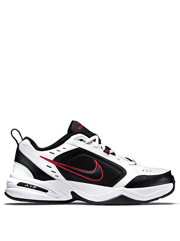 Air Monarch IV WhiteBlackRed