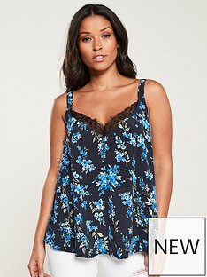 v-by-very-lace-trim-swing-caminbsp--floral