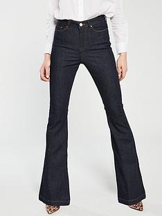 v-by-very-high-waisted-flare-jeans-dark-wash