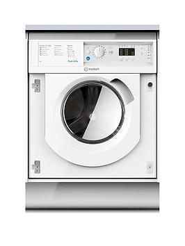 Indesit Biwmil71252 7Kg Load, 1200 Spin Washing Machine - White - Washing Machine With Installation