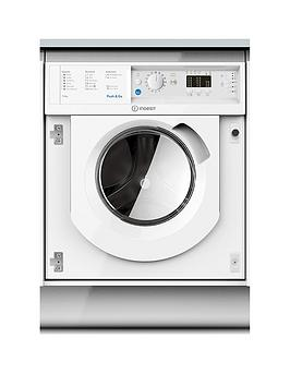 Indesit Biwdil7125 7Kg Wash, 5Kg Dry 1200 Spin Washer Dryer - White - Washer Dryer Only