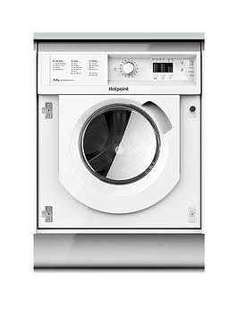 Hotpoint Biwdhl7128 7Kg Wash, 5Kg Dry, 1200 Spin Integrated Washer Dryer - White - Washer Dryer Only