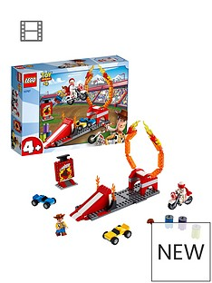 LEGO Juniors 10767 Toy Story 4 Duke Caboom's Stunt Show