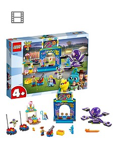 LEGO Juniors 10770 Toy Story 4 Funfair Playset