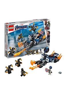 LEGO Super Heroes 76123 Marvel Avengers Outriders Attack Toy