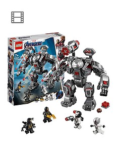 LEGO Super Heroes 76124 Marvel Avengers War Machine Buster Figure