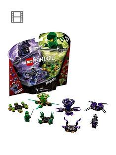 LEGO Ninjago 70664Spinjitzu Lloyd vs. GarmadonSpinners