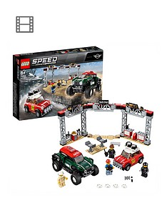 LEGO Speed Champions 75894 1967 Mini Cooper S Rally Car and 2018 MINI John Cooper Works Buggy