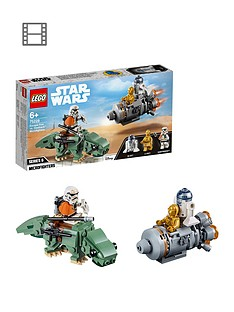 LEGO Star Wars 75228 Escape Pod vs. Dewback Microfighters™