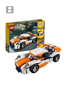 LEGO Creator 31089 Sunset Track Racer Car