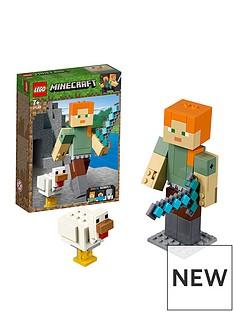 LEGO Minecraft Alex BigFig with Chicken
