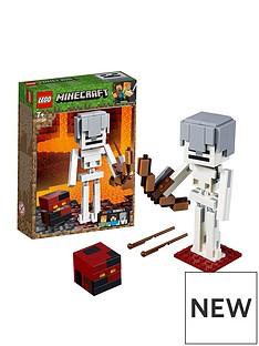 LEGO Minecraft 21150Minecraft™ BigFig Skeleton with magma cube