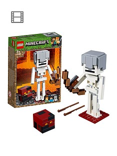 LEGO Minecraft 21150 Minecraft™ BigFig Skeleton with magma cube