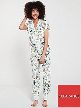 b-by-ted-baker-highgrove-printed-pyjama-pant-green