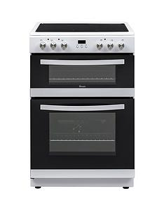 Swan SWAN SX15880W 60CM DOUBLE ELECTRIC COOKER WHITE Best Price, Cheapest Prices