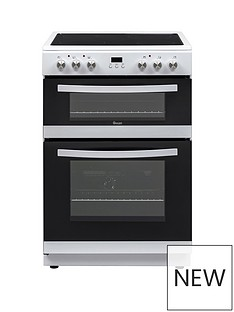 Swan SWAN SX15880W 60CM DOUBLE ELECTRIC COOKER WHITE