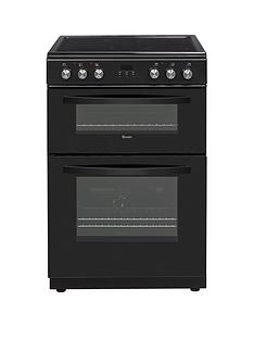 Swan SWAN SX15880B 60CM DOUBLE ELECTRIC COOKER BLACK Best Price, Cheapest Prices