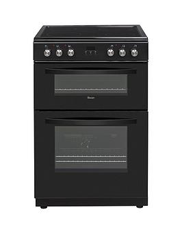 Swan Swan Sx15880B 60Cm Double Electric Cooker Black