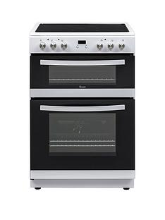 Swan SWAN SX158100W 60CM TWIN ELECTRIC COOKER WHITE Best Price, Cheapest Prices