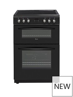 Swan SWAN SX15100B 60CM TWIN ELECTRIC COOKER BLACK
