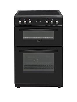 Swan Swan Sx15100B 60Cm Twin Electric Cooker Black Best Price, Cheapest Prices