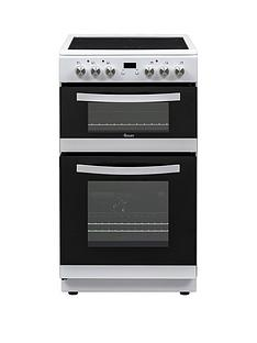 Swan SWAN SX15821W 50CM TWIN ELECTRIC COOKER WHITE Best Price, Cheapest Prices
